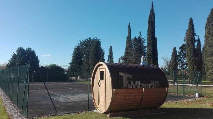 Sauna Extérieur Tonneau, Alina, Meilhan Sur Garonne, France (2)