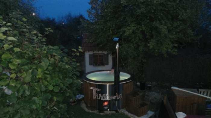 Bain Norvegien En Fibre De Verre Thermo Bois Wellness Royal, David, Ancey, France (5)