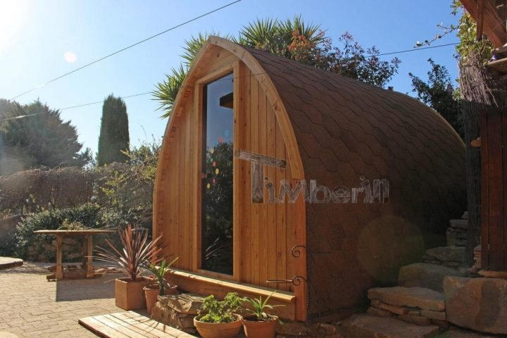 Jardin Extérieur Sauna En Bois Igloo Design,WORLD DESIGN ARCHITECTURE, La Ciotat, France (2)