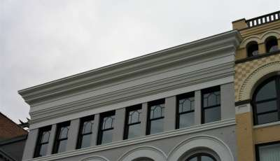 JCPenney Building cornice image
