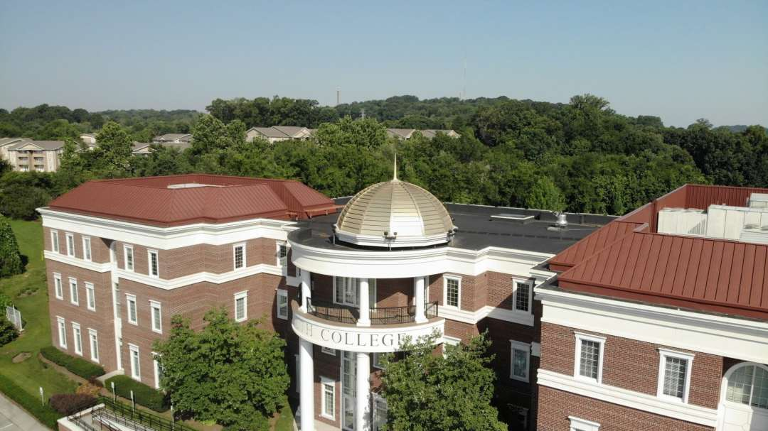 South College cupola image