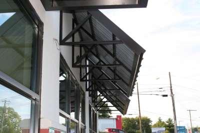 Mubarack Shopping Center canopy image
