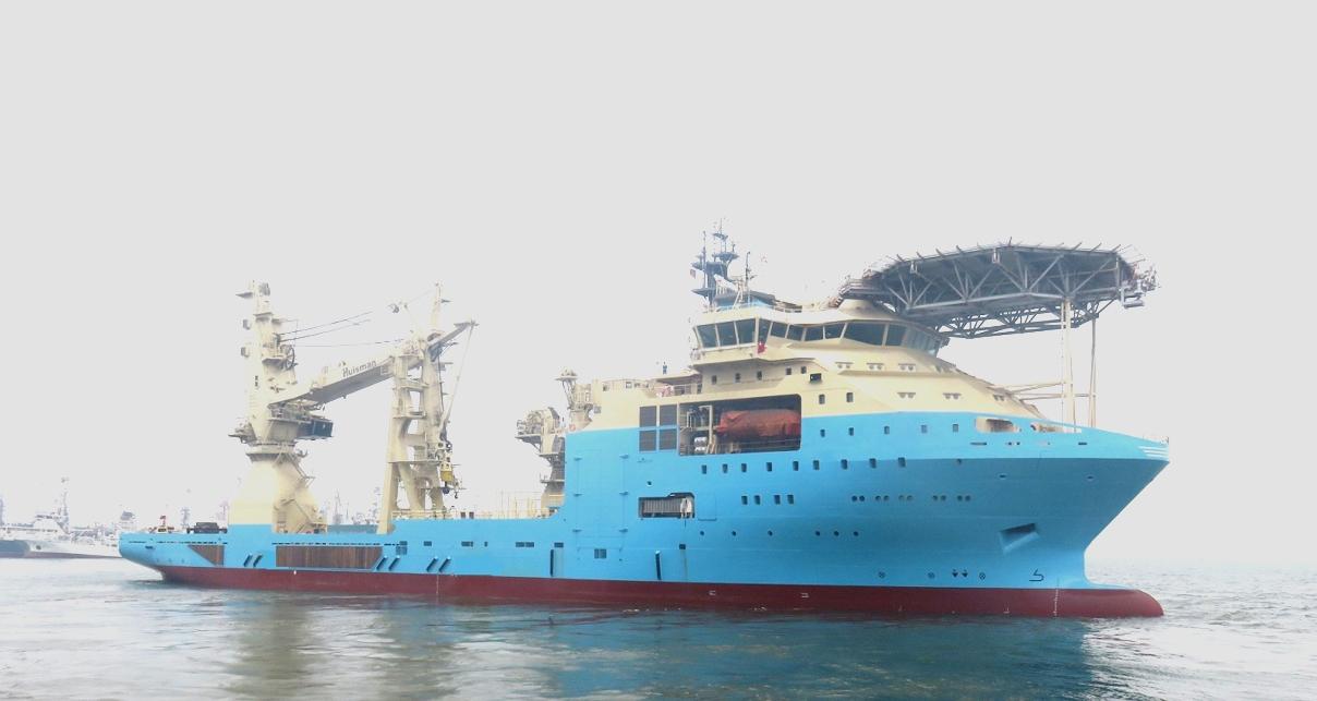 COSCO delivers Maersk newbuild