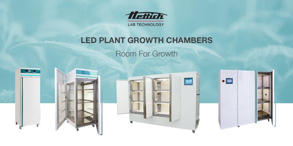 Incubadoras para crecimiento de plantas