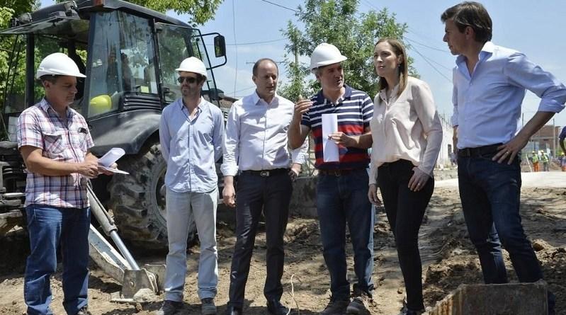 Vidal supervisó obras con Insaurralde, uno de los intendentes opositores claves para aprobar el presupuesto