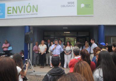 López Medrano inauguró una nueva sede Envión en San Miguel
