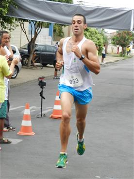 Maicon Duzo, participando da 1ª Big Run.