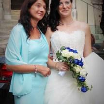 Braut mit Mutter
