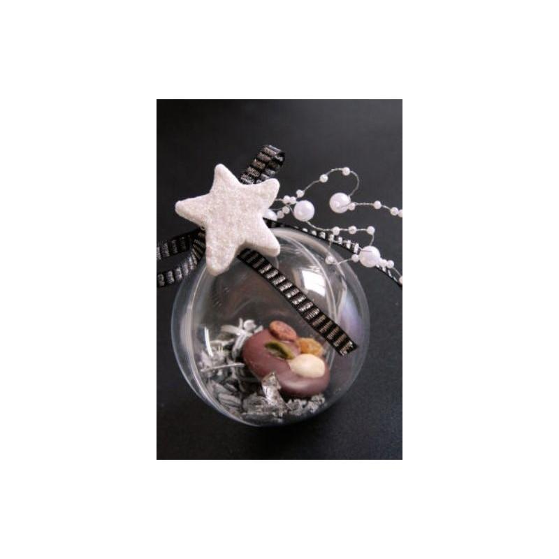Boule Transparente 8 Cm Boule Plexi Boule Plastique