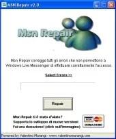 MSN Repair, uma solução simples.