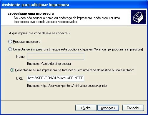 Adicionar impressora no Windows