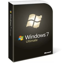 Caixa do Windows 7 Ultimate Edition