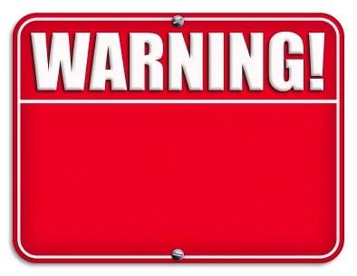 Evite avisos de segurança não confiáveis!