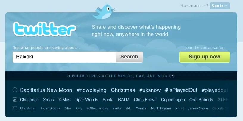 O Twitter virou febre!