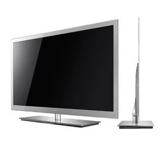Visual da TV 3D mais fina do mundo