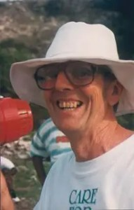 Dr. Colin Hudson (15 January 1938 to 22 February 2004): environmentalist, inventor and hiker.