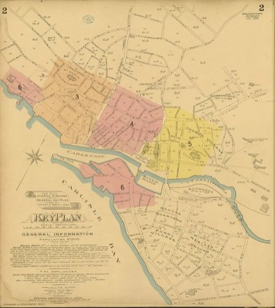 Chas. F. Goad, Civil Engineer; London - Bridgetown and Suburbs 1895 Sheet 2 of 6British Library