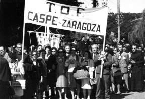 6. La Tercera Orden de Caspe en Zaragoza.