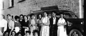 D.V: Orden Franciscana de Valencia y un tesoro en forma de fotos antiguas de Caspe