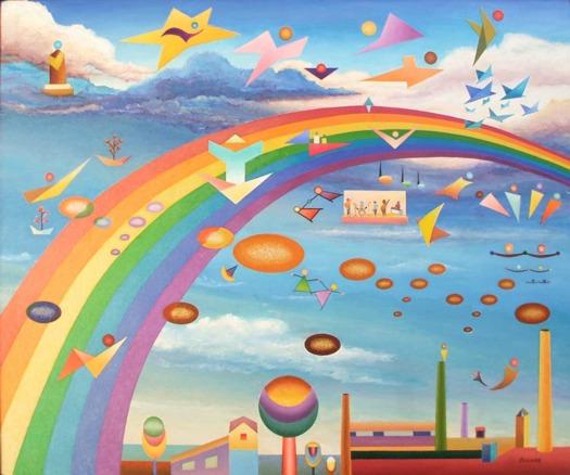 Over the rainbow - Basada en la BSO de El Mago de Oz.