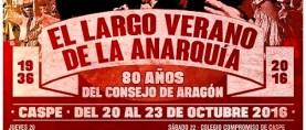 EL LARGO VERANO DE LA ANARQUÍA, Caspe, del 20 al 23 de octubre
