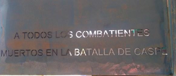 II Jornada conmemorativa de la Batalla de Caspe