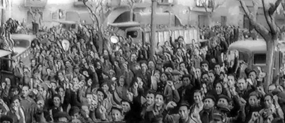 Filmaciones de Caspe durante la Guerra (I): La Silla Vacía cumple 80 años.