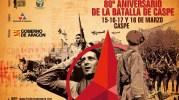 Programa completo de la Conmemoración de la Batalla de Caspe (15-18 de marzo de 2018)