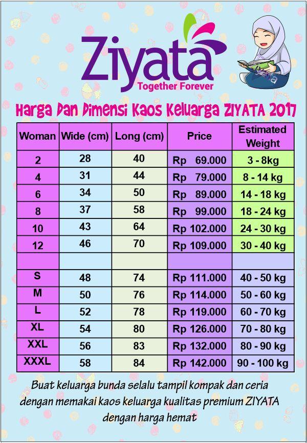Harga Ziyata