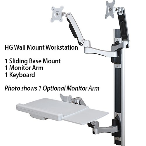 Hg Wall Mount Workstation Great For Hospitals