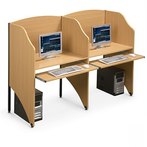 Deluxe Study Carrel Add a Carrel Private Work or Study Bakagain