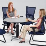 Multi Purpose Dining Table Grey Nebula Break Room
