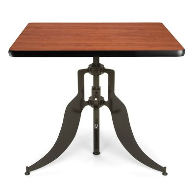 Adjustable Height Dining Table AT36SQ Cherry