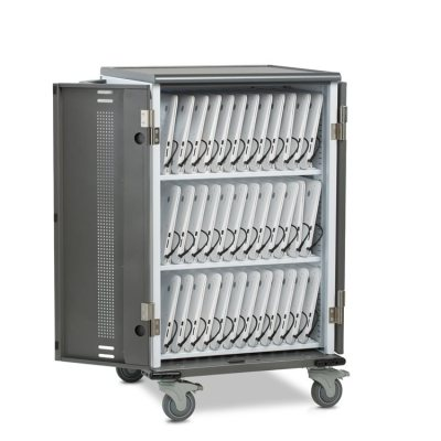 ChromeBook Charging Cart Open Full