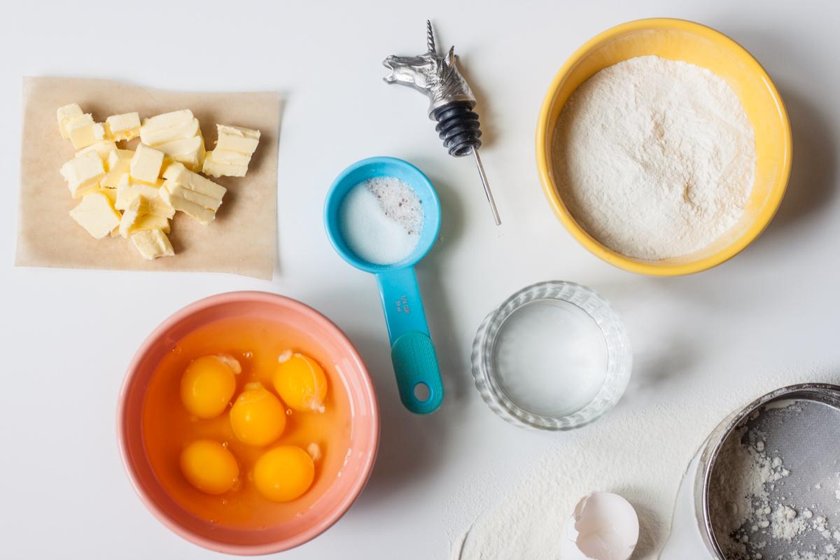How to make perfect cream puff dough