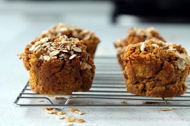 pumpkin muffins bakehaolic