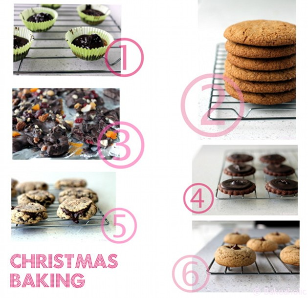 Christmas Baking List B A K E A H O L I Cb A K E A H O L I C