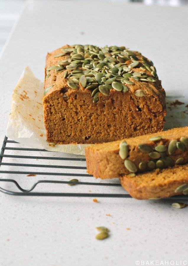 pumpkin bread bakeaholic.ca