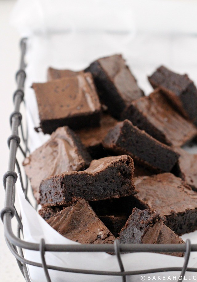 Best Gluten Free Brownies // bakeaholic.ca