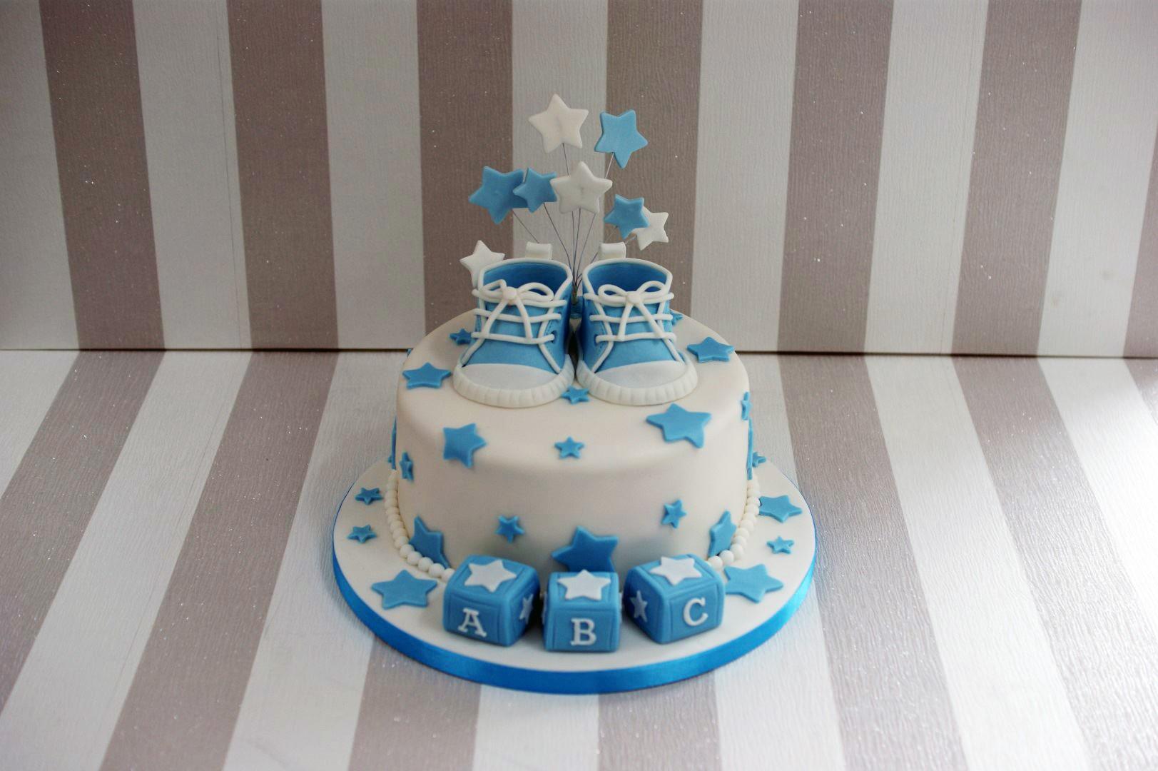 Baby Shower Cakes Boys