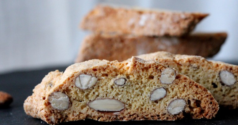 Christmas cookies … almond biscotti