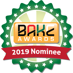 BAKE Awards 2019 Nomination Badge
