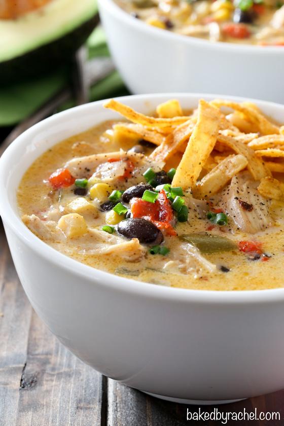 Instant Pot Chicken Fajita Soup for Dump Dinner