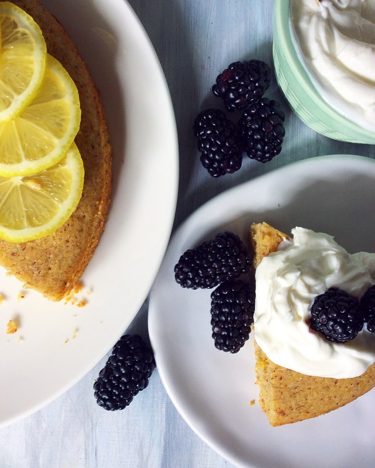 Lemon & Honey Olive Oil Cake