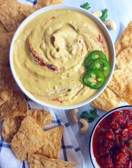 The Best Salsa Con Queso (that happens to be Vegan)