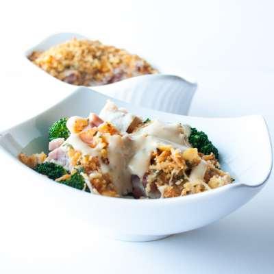Chicken Cordon Bleu Bake Recipe – Mock Chicken Cordon Bleu