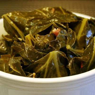 Collard Greens with Bacon Recipe