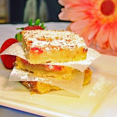 Strawberry Pineapple Lemonade Bars Recipe