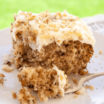 Preacher Cake (Preachers Delight) with Cream Cheese Frosting