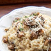 Gordon Ramsay's Mushroom Risotto